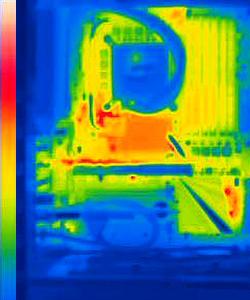 thermal image testing