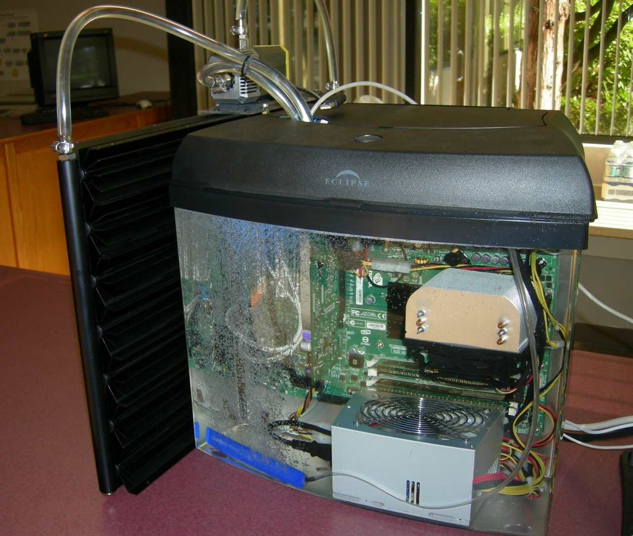 Fish Tank PC with Radiator
