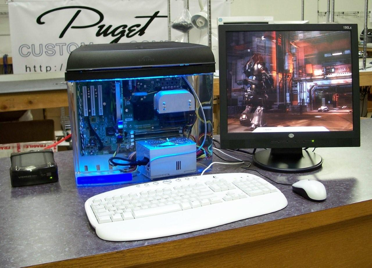 Fish Tank PC